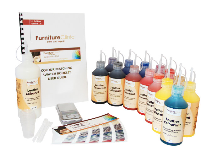 Colour matching kit furniture clinic for Furniture clinic
