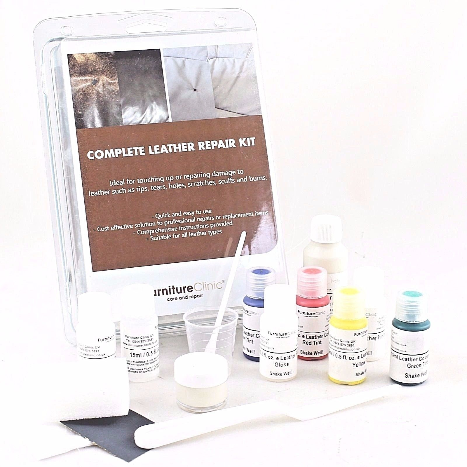 .Complete Leather Repair Kit