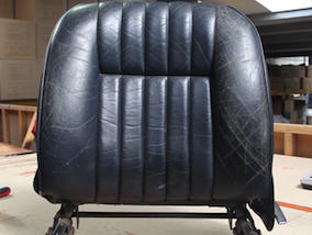 How to restore a leather car interior guide - Seat Before Leather Restoration