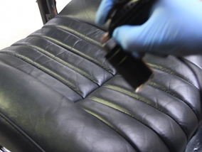 How to restore a leather car interior - Fully restored leather car interior