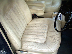 Leather Car Interior Restoration - Leather Seat Cracking & Colour Loss