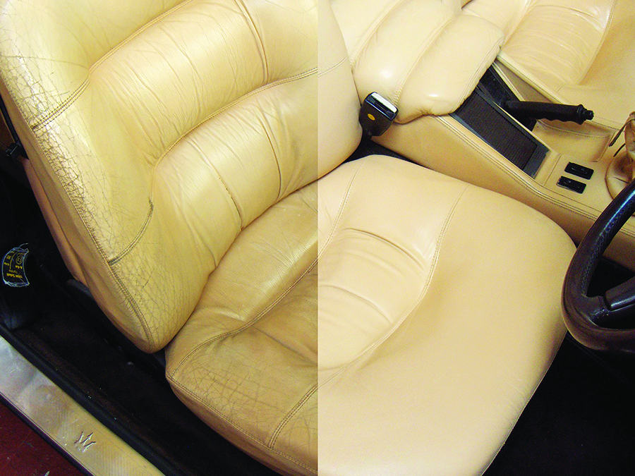How to Restore the Leather Seats of a Classic Car