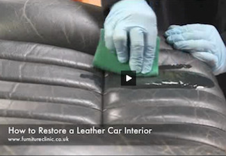 How to Restore Interior Leather Car Seats | Car Leather Restoration ...