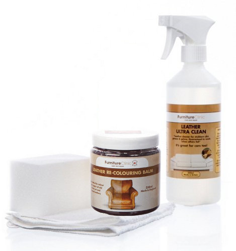easy leather restoration kit - Leather Furniture Care Kit