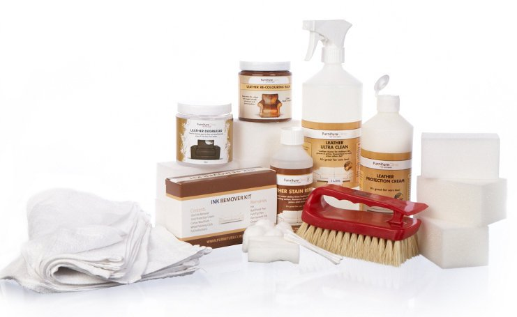 leather first aid kit - Leather Furniture Care Kit
