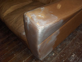 leather furniture upholstery restoration touch up repair
