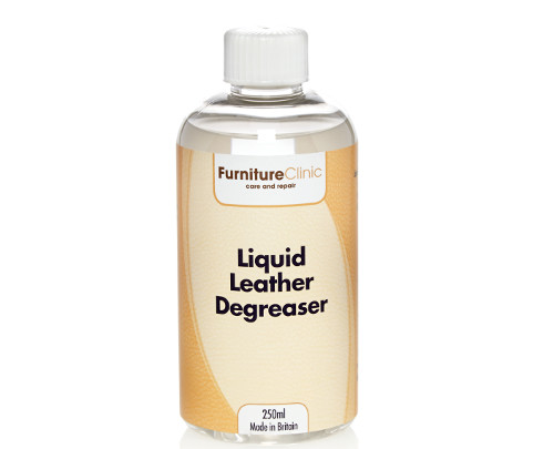 Liquid Leather Degreaser