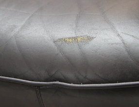 How To Repair Scuffs Scratches On Leather Furniture Clinic