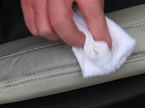 How to remove stains on leather  guide - Applying Leather Stain Remover