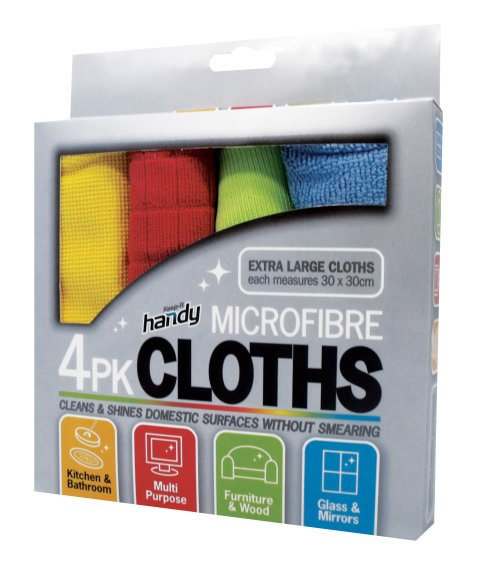 Microfiber Cloth – 4 Pack