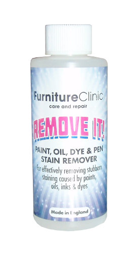 remove it paint oil dye pen stain remover furniture clinic. Black Bedroom Furniture Sets. Home Design Ideas