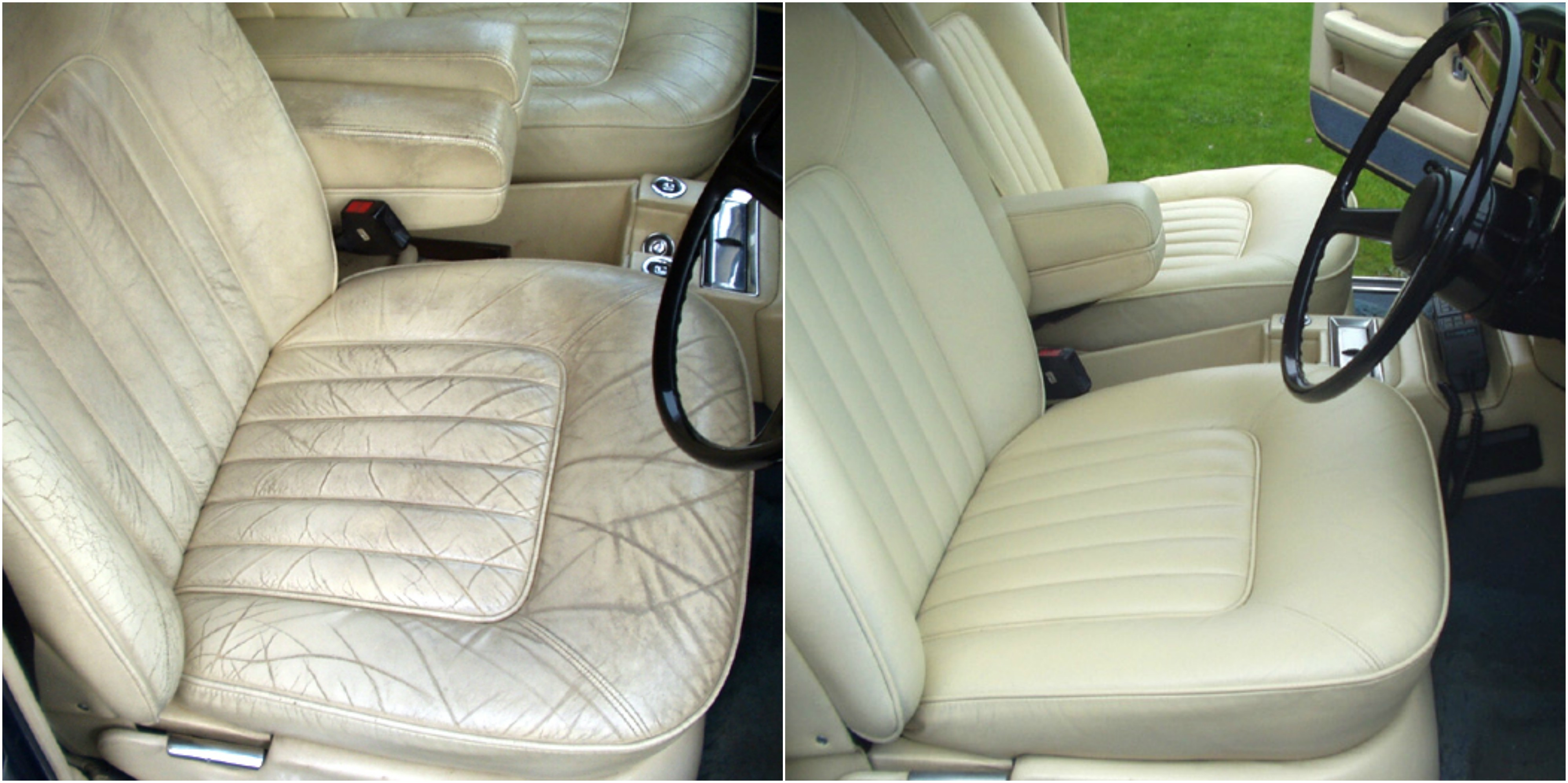 How To Restore The Leather Seats Of A Classic Car Furniture Clinic