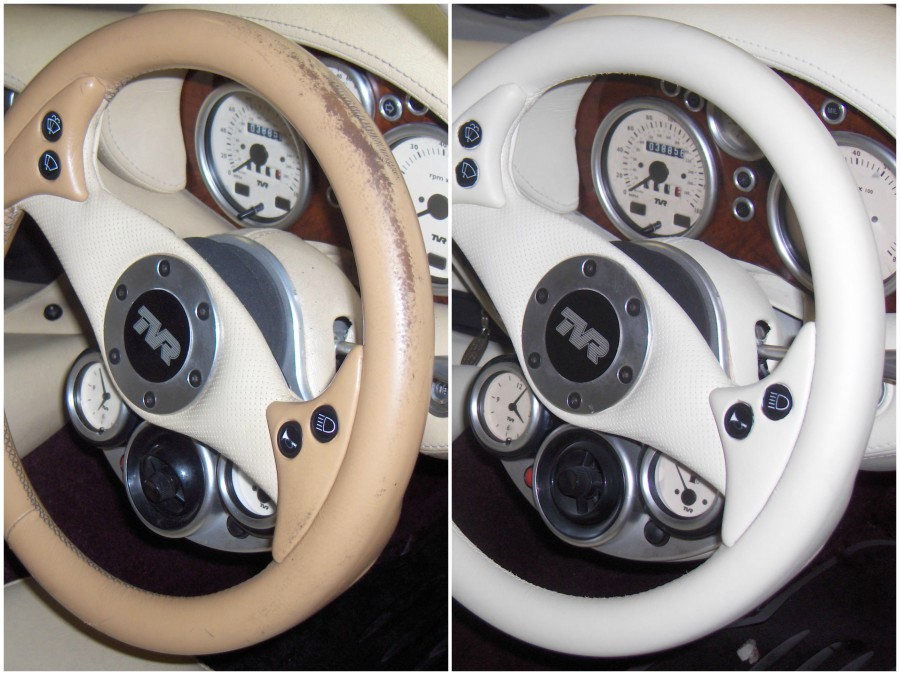How to Restore a Leather Steering Wheel