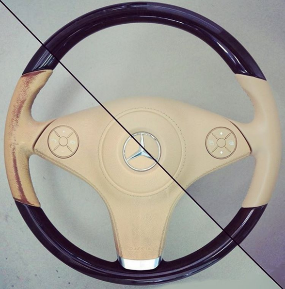 How to Restore a Leather Steering Wheel - Furniture Clinic