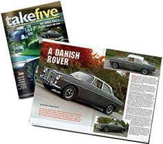 Take 5 - The Rover P5b Owners Club