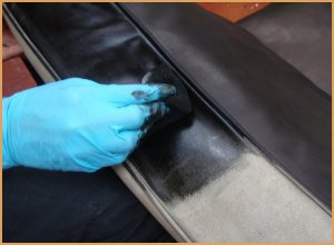 Black Leather Dye - Perfect for Dying Leather Upholstery