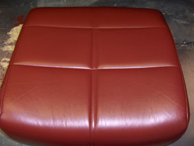 Coloured Leather Seat