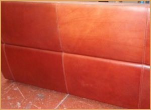 Dyed And Sealed Sofa - Professional Results using Leather Dye