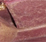 Rayure/griffure sur cuir absorbant
