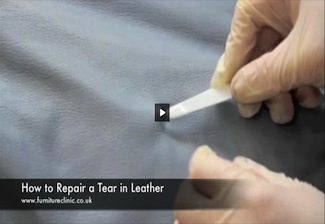 How To Repair a Tear In Leather
