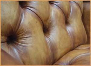 Wing Back Chesterfield - Leather Upholstery Dyed with Furniture Clinic Leather Dye