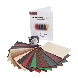 Leather Types Swatch Booklet and Guide