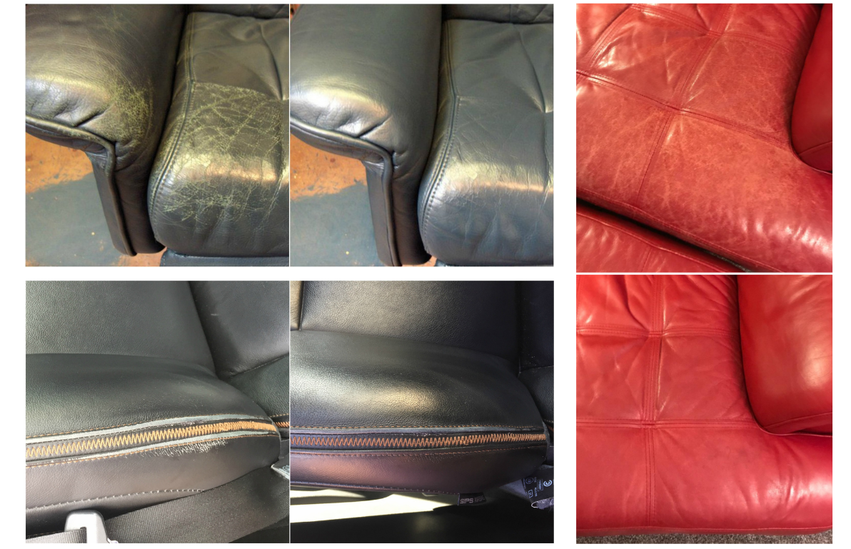 Leather Balm Results