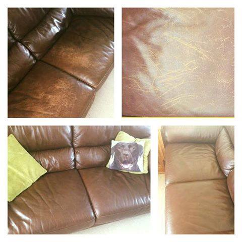 Car Seats Leather Repair Cream Furniture Clinic Leather Recoloring Balm Renew Restore /& Repair Color to Faded and Scratched Leather Works on Couches N