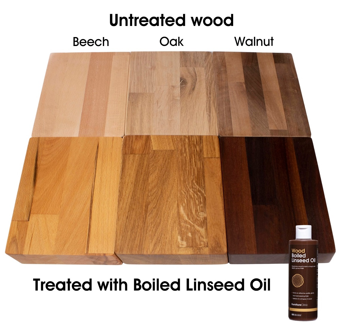 Boiled Linseed Oil Comparison