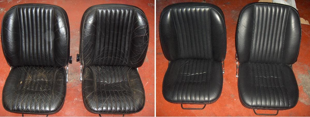 Blck Leather Dye on Car Seats