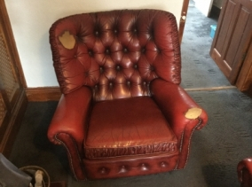 Re-Upholstery Before