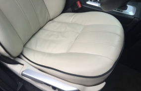 Leather Car Interior Repair & Restoration - After