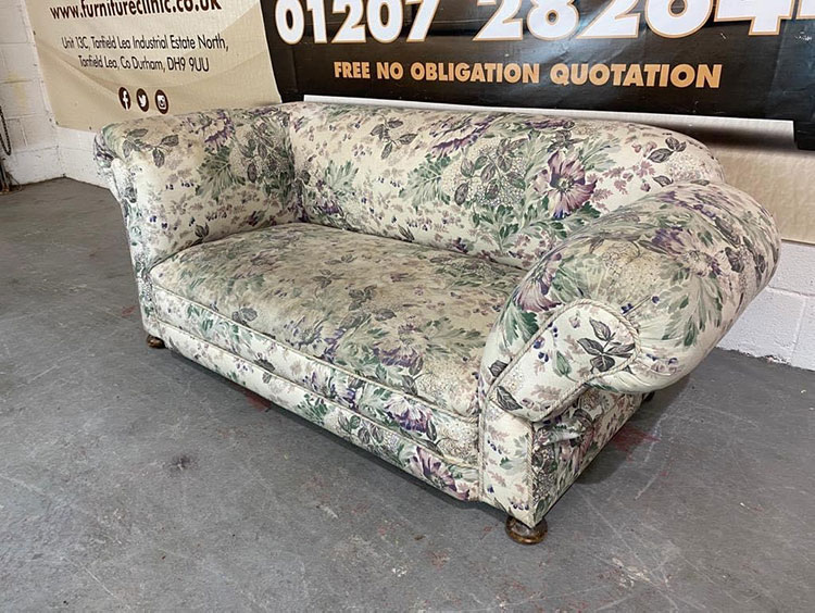 Complete Chair Recover Before