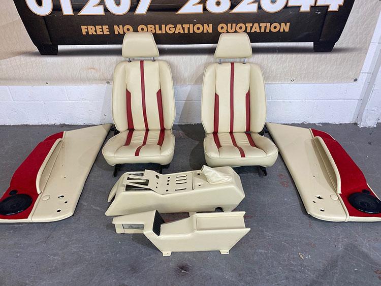 Leather Ferrari Interior Repair & Restoration - After