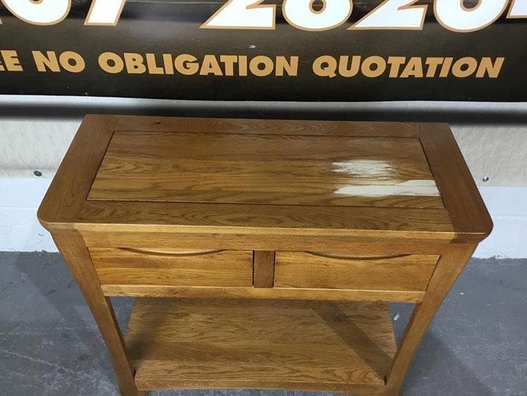 Wood Furniture Restoration Service - Before