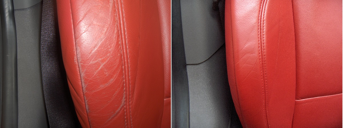 BMW Leather Repair Paint