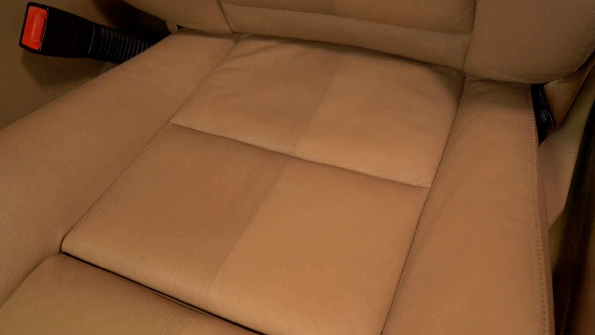 Leather Cleaner Results