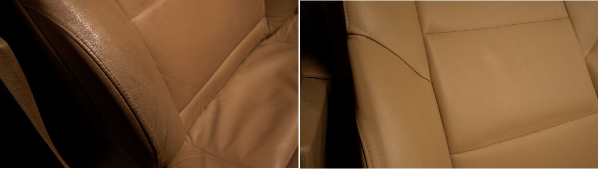 Leather Car Seat Repair Results